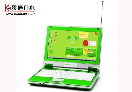 日本推超可爱造型笔记本电脑