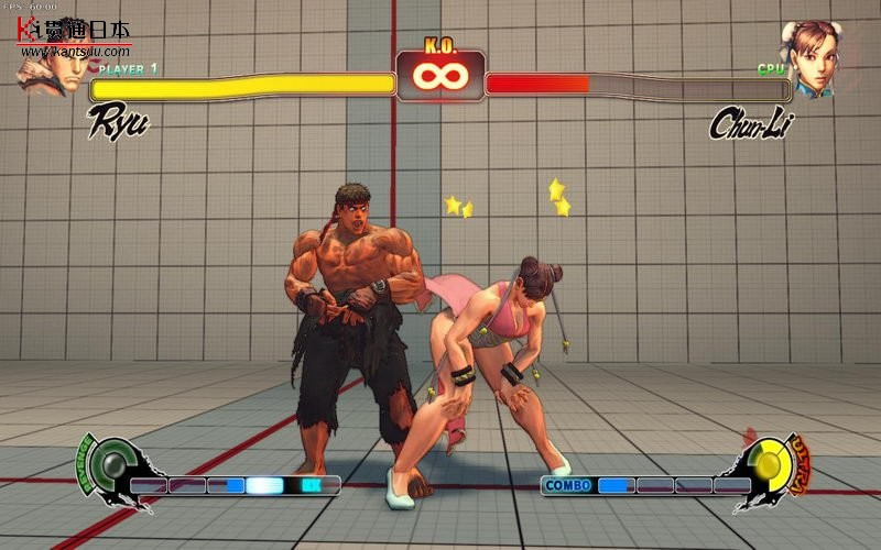 日本游戏《街霸4》猥琐恶搞图集――贯通日本数码