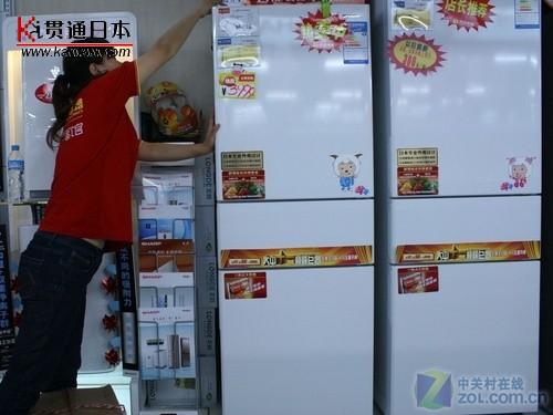 夏普日本进口压缩机冰箱仅3999元