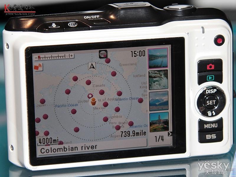 内置gps卡西欧数码相机