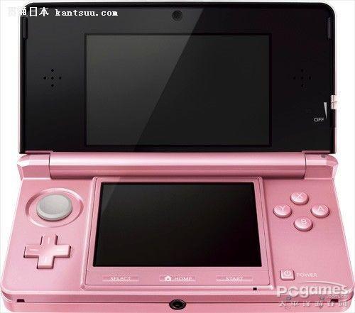 日本亚马逊已正式接受粉色版任天堂3DS预定
