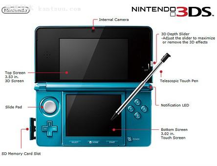 任天堂3DS游戏机