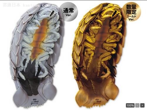 日本iphone手机壳设计成类似于蟑螂的巨型多足动物