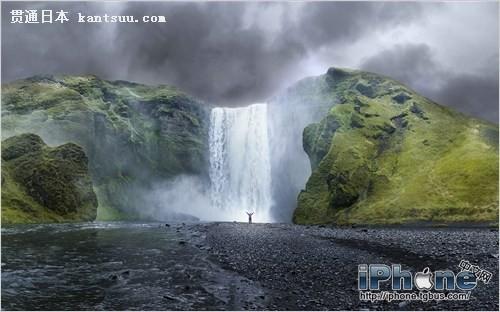 壁纸 风景 旅游 瀑布 山水 摄影 桌面 500_312