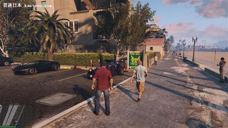 《gta5》的游戏场景画面