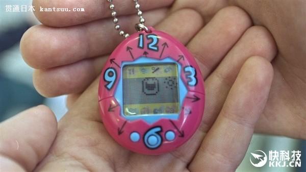80后还记得吗?日本万代重卖电子宠物:93元一个