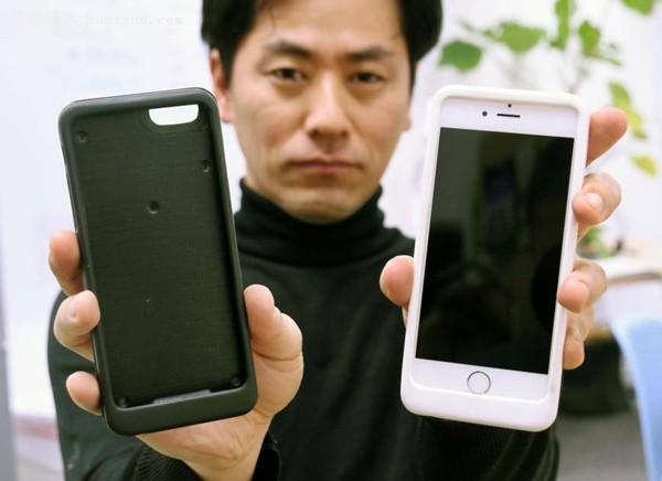 拿起手机不撒手?日本公司推出防沉迷手机壳